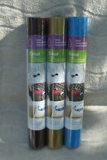 Cricut® (3) Iron On Transfer Rolls  In Plum, Gold & Cyan