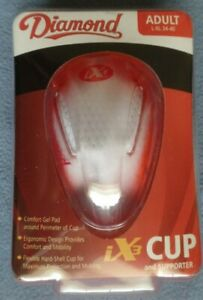 Diamond iX3 Adult Athletic Cup And Supporter Size L-XL 34-40 Waist NIP