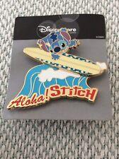 Disney Pin JDS Aloha Stitch Surfing 2004 Pin Pic 30487