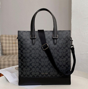 NWT Coach Graham Structured Tote In Signature Canvas