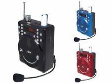 QFX BT-90 Rechargeable Mini PA Speaker +Bluetooth +USB/SD/FM +Microphone/Headset