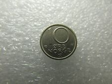 Norway 1978 Coin, 10 Ore