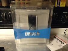 EUC Sirius Stiletto SL10 Personal Sat. Radio SL10-PK1 RARE CALL READ ALL