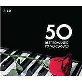 Various Artists -50 Best Romantic Piano Classic New CD