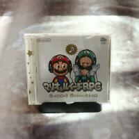CLUB NINTENDO Original Mario & Luigi RPG Selection Sound Track Sound CD Japan