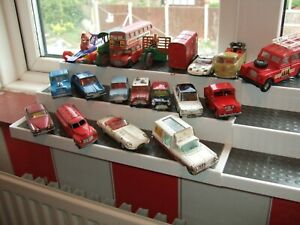vintage dinky and corgi and one other joblot