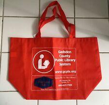 Florida Gadsden County library Reusable Shopping Bag Grocery Book Tote