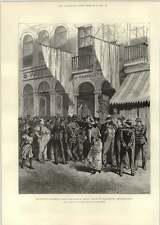1893 Brasilian Insurrection Reading Telegrams Newspaper Office Marshall Macmahon