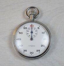 Vintage Stopwatch Chronometer LEMANIA Pocket Sports Mechanical Watch Swiss Made