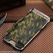New Camouflage Armor Robocop Metal Hybrid Aluminum Stand Case For Samsung iPhone