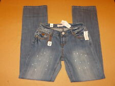 NWT Tin Haul Mimi X-Boyfriend -Womens Jeans Size 27R  27x32 Paint Splash