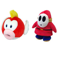 Super Mario Bros. Series Pukupuku Cheep Cheepap Fish Shy and Guy Soft Plush Toys