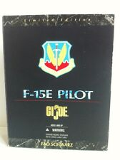 GI JOE FAO SCHWARZ Exclusivo f-15e E Piloto Edición Limitada 1:6 DE COMBATE