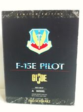 GI JOE  FAO SCHWARZ EXCLUSIVE F-15E PILOT LIMITED EDITION 1:6 FIGHTER PILOT.