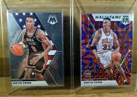 2019-20 Panini Mosaic SCOTTIE PIPPEN Reactive Blue Prizm #292 & USA #256