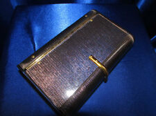 VINTAGE RARE PETITE WILARDY IRIDESCENT BLUE CLUTCH COLORS BLUE & GOLD LUCITE!