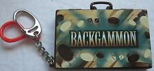 Backgammon KeyChain Board Game with Magnetic Pieces and Dice 2000 Basic Fun