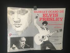 """1981 """"This is Elvis"""" ELVIS PRESLEY  Mexican Movie Lobby Card -A299"""