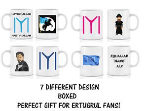 Personalised Ertugrul Kayi Tribe Mug Cup Bey/Alp/Sultan/Hatun Boxed Ladies Mens