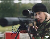Helen Mirren Signed THE QUEEN 11X14 Photo RED In Person Autograph JSA COA Cert