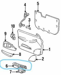 NOS 95-99 Chevrolet Lumina Front Door-Pull Pocket Right 10244344