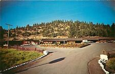 60s Chrome PC Golden Spur Motel Weed CA Foot of Mt Shasta I-5, Hwy 97 Unposted