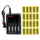 16340 Battery 2800mAh CR123A Rechargeable 3.7V Li-ion Cell 4 Slot Charger Lot