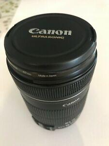 Canon EFS 18-135mm Image Stabiliser Zoom Lens + 67mm HOYA Lens Filter