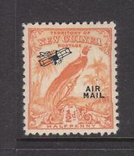 NEW GUINEA: BIRD of PARADISE  1/2d  UN DATED  AIR MAIL OV/PR   MH   SG190