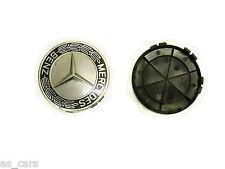 llanta de Aleación Tapa embellecedor para Mercedes Benz Clase A 7.6cm diámetro