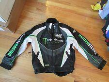 Tucker Hibbert Snowmobile Racing Monster Energy Castle X Racing Jacket Size S