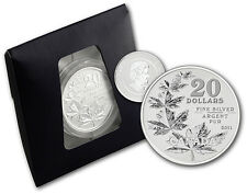 CANADA 2011 $20 DOLLARS COMMEMORATIVE FINE SILVER .9999 SILVER MAPLE LEAF1/4 Oz