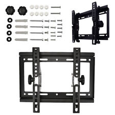 "Universal TILT TV WALL BRACKET MOUNT 14 -32"" inch 75x75 200x200mm Monitor Holder"