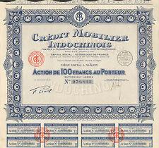 Indochine - Saïgon - Banque Exploitation des Monts de Piété de Cochinchine 1930