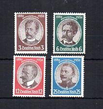 GERMANY 1934 SCOTT# 432-35, Mi.# 540-43 WWI LOST COLONIES WAR REPARATIONS. MNH.