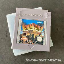 NINTENDO GAMEBOY RAMPART DMG-R8-FRG RARE TITLE
