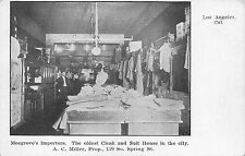 CA - 1900's California Mosgrove's Importers Store Interior in Los Angeles, CALIF