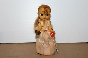 NICE VINTAGE WIND UP  DANCING PONY TAIL GIRL
