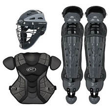 Rawlings Sporting Adult Catcher Set VELO Series Protective Gear Black/graphite