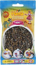 Hama 1000 Midi Bügelperlen 207-12 Braun Ø 5 mm Perlen Steckperlen Beads