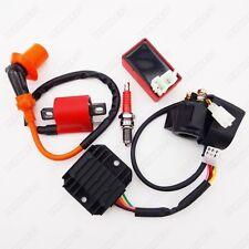 ATV Ignition Coil CDI Spark Plug Relay Regulator Rectifier 150cc 200 250 cc Quad