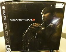 Xbox 360 Gears of War 3 - Epic Box Collectors Edition - Opened Box