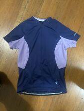 Specialized Cycling Jersey Womens Medium Purple