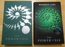 """Pittacus Lore """"The Power of Six""""  Slipcased  Limited Numbered Edition  F/F"""