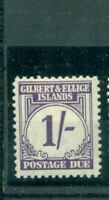 Gilbert und Ellis Islands, Wertziffern Nr. P 7 Falz *