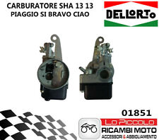 01851 CARBURATORE DELL'ORTO SHA 13 13 2T PIAGGIO SI CIAO BOXER CICLOMOTORI
