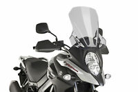 SUZUKI DL 650 XT V-STROM 2017 > PUIG SCREEN SMOKE TOURING WINDSCREEN