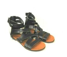 Universal Threads Womens Black Rosalee Gladiator Sandals Size 7