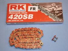 RK Kette 420 SB rot 72 Glieder - Motorradkette / Antriebskette / Rollenkette