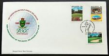 1993 Malaysia Sports, Centenary of Royal Selangor Golf Club 3v Stamps FDC (KL)